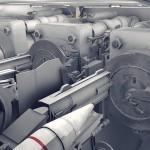 VR戦艦大和 主砲内部