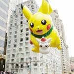 感謝祭の日、NY中心部に「ピカチュウ」が登場