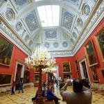 世界3大美術館の一つ「エルミタージュ美術館」内のスペイン絵画の部屋
