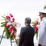 ハワイ真珠湾攻撃75年、日米が初の合同追悼式