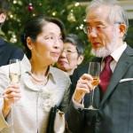 大隅良典さん、ノーベル賞授賞式に臨む