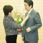小池東京都知事、安倍首相と首相官邸で会談