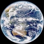 気象衛星「ひまわり9号」が地球を撮影