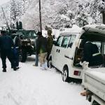 大雪の影響、鳥取県内で車300台超が立ち往生