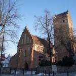 朝日とともに聖母訪問教会