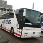 Eurolines Busこちらは1階建