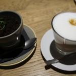 """ヴィリニュスに新しくできた""""Grey""""というカフェテリア:マンゴームースと出てきた愉快な植木鉢"""