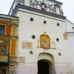 ビリニュスの旧市街への巨大な門
