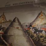 コシチュシコ山 博物館内の展示物にてコシチュシコ山の昔の風景