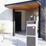 戸建て住宅向けの多機能型宅配ボックスを開発