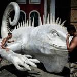 世界的に有名な祭典リオのカーニバルの準備着々