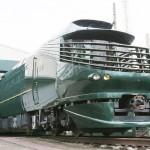 JR西日本、豪華寝台列車「瑞風」をお披露目