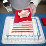 ワシントン生誕285年目のバースデイケーキ
