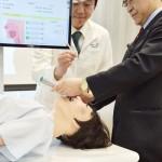 医療訓練用の人間型ロボ「mikoto」を発表
