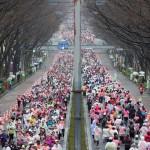 4500人の女性ランナーが表参道を駆け抜ける