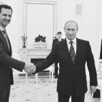 プーチン氏(右)とアサド氏