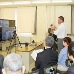 北海道教委が取り組む遠隔システムの公開授業