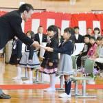 帰還の小高小学校で入学式、近隣の3校を集約