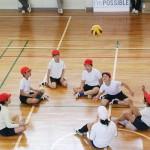 東京・東久留米でパラリンピックの実技を体験