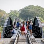 クウェー川鉄橋は今や観光名所「戦場にかける橋」