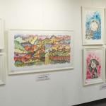 アートなスヌーピー、日本限定発表の新作を展示