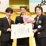 特別表彰の浅田さん「挑戦忘れず、失敗恐れず」