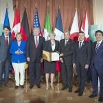 先進7カ国(G7)首脳会議(サミット)