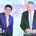 安倍首相「世界中の人々の記憶に残る大会に」