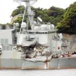 米イージス駆逐艦「フィッツジェラルド」