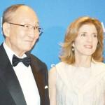 日米交流団体がケネディ前駐日米大使を表彰