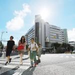 沖縄地方は平年より1日早く梅雨明け