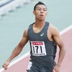 18歳のサニブラウンが10秒06、驚異の好記録