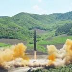 大陸間弾道ミサイル「火星14」