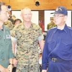 那覇駐屯地で大規模震災想定訓練、陸自と県が初共催