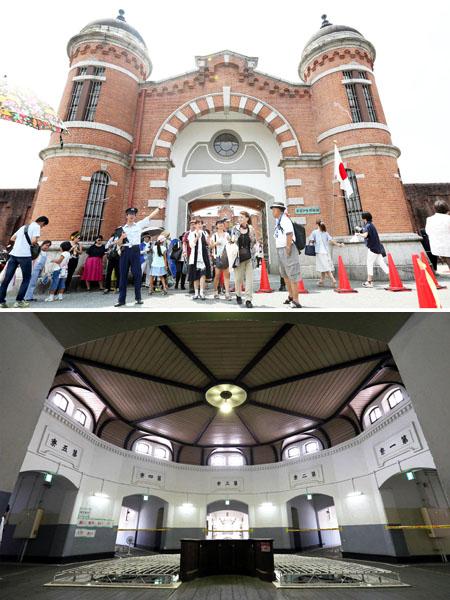 ホテル開業を目指す「旧奈良監獄」で見学会