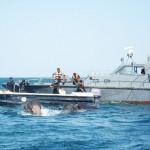 スリランカ海軍、溺れかけのゾウをまた救出