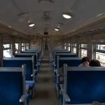 発車30分前。乗客はまだまばら