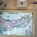 国鉄時代の路線図がそのまま使われている。新幹線も青函トンネルもまだない。
