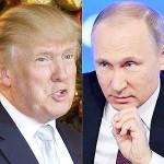トランプ氏(左)とプーチン氏