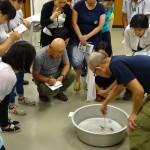 現役教師が井の頭池の現状学ぶ