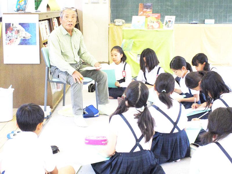 地元小学生、広島土砂災害を伝える担い手に