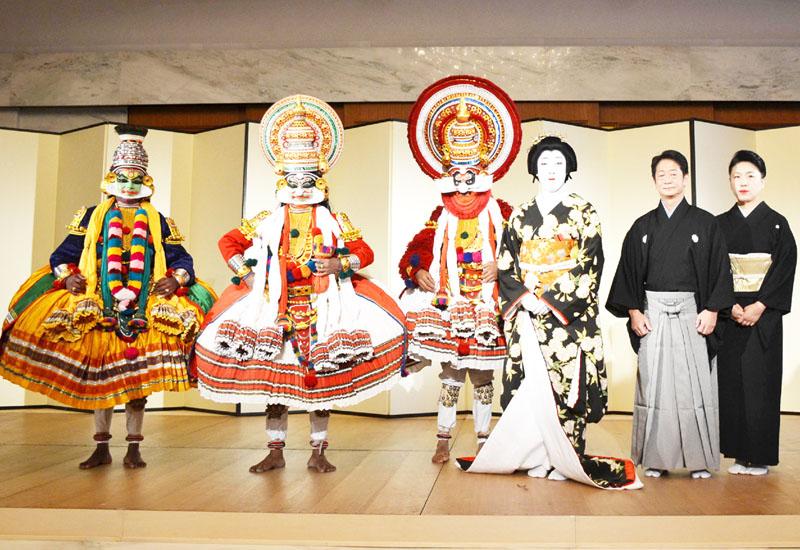 5代目尾上菊之助さん、インドで歌舞伎の公演