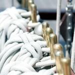 美しく整えられたロープ