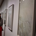 Nina KURTELA氏の「The Wall」。美術館の展示壁を撮影し絵画とした。