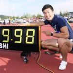 桐生祥秀、4年間の重圧乗り越え9秒98の快挙