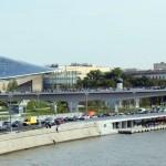 モスクワの中心部に大規模な公園がオープン