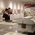 文明開化の浪漫を見る、明治の東京を錦絵で展示