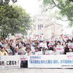 市民や被爆者ら「核禁条約に全ての国が署名を」