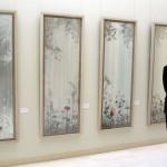 画家の神津善之介さん、スペイン大使館で個展