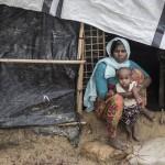 ロヒンギャ支援医師「夫殺され、避難先で出産」